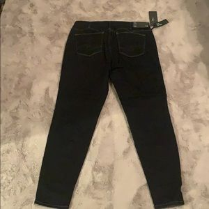 Silver jeans Mazy style, skinny high rise dark